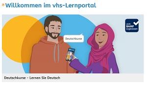 Deutsch lernen mit dem vhs-Lernportal
